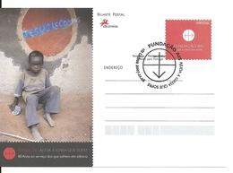 Portugal 2007 - Postal Stationery 60 Years Help The Church That Suffers Fdc - Postwaardestukken