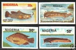 1991Nigeria573-79Imperf. / Sea Fauna Rare - Poissons