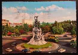 LISBOA - Portugal - Monumento Aos Mortos Da Guerra Peninsular - Bus, Cars, Auto, Double Decker - Vg - Lisboa
