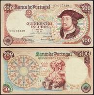 500 ESCUDOS 1966 PORTUGAL P170a - Portugal
