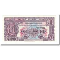Billet, Grande-Bretagne, 1 Pound, Undated (1948), KM:M22b, NEUF - Forze Armate Britanniche & Docuementi Speciali