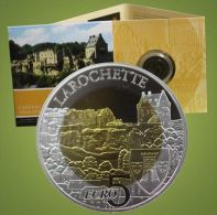"""Luxembourg 2014 : 5€ En Argent Et Niobium """"Château Larochette""""  - Disponible En France - Luxembourg"""