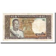 Billet, Lao, 20 Kip, Undated (1963), KM:11a, TB - Laos