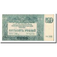 Billet, Russie, 500 Rubles, 1920, KM:S434, TTB - Russia
