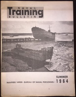 American US Army Naval Training Bulletin Summer 1964 - Naval Institute - Forces Armées Américaines
