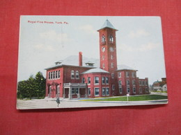 Royal Fire House  York  Pennsylvania >     Ref 3490 - United States