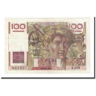 France, 100 Francs, Jeune Paysan, 1950-11-16, SUP, Fayette:28.28, KM:128c - 1871-1952 Antichi Franchi Circolanti Nel XX Secolo