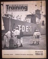 American US Army Naval Training Bulletin Winter 1964-1965 - Naval Institute - Fuerzas Armadas Americanas
