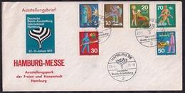 Deustche Bundespost - 1971 - FDC - Freiwillige Hilfsdienste - [7] República Federal