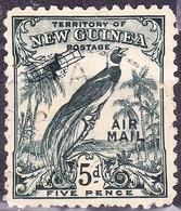 NEW GUINEA 1932 5d Deep Blue-Green SG196 Used - Papua New Guinea