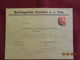 Lettre De 1943 De Bohème & Moravie - Bohême & Moravie