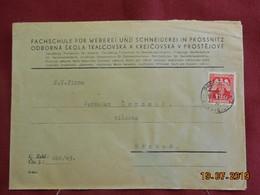 Lettre De 1943 à Destination De Nachod - Bohême & Moravie
