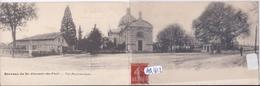 BERCEAU DE ST-VINCENT-DE-PAUL- VUE PANORAMIQUE- RARE CARTE-DOUBLE - Other Municipalities
