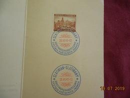 FDC De 1941 De Bohème & Moravie - Bohême & Moravie