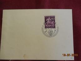 Carte (support De Timbre) De 1943 De Bohème & Moravie - Bohême & Moravie