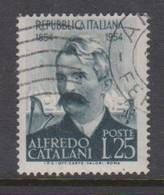 Italy Republic S 740 1954 Alfredo Catalani,used - 6. 1946-.. Republic
