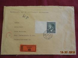 Lettre Chargée De 1944 à Destination De ... - Bohême & Moravie