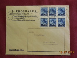 Lettre De 1941 à Destination De Oranienburg - Bohême & Moravie