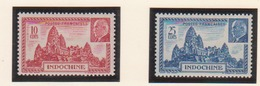 INDOCHINE       N°  YVERT    222/223  NEUF AVEC  CHARNIERES      ( Ch 02/37 ) - Indochina (1889-1945)