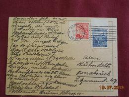 Carte De 1944 Au Depart De Brno - Bohême & Moravie