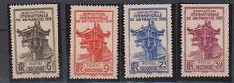 INDOCHINE       N°  YVERT    205/208  NEUF AVEC  CHARNIERES      ( Ch 02/37 ) - Indochina (1889-1945)