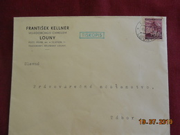Lettre De 1940 à Destination De Tabor - Bohême & Moravie