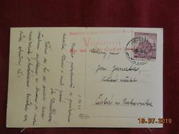 Carte De 1941 De Mlada Vozice - Bohême & Moravie