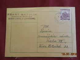 Carte De 1941 à Destination De Prague - Bohême & Moravie