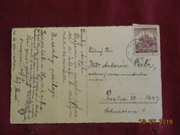 Carte De 1940 à Destination De Prague - Bohême & Moravie