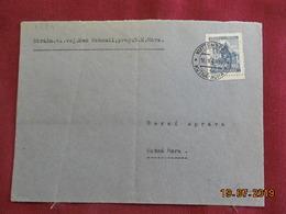 Lettre De 1941 Au Depart De Kutna-Hora - Bohême & Moravie
