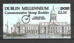 Ireland 1988 Dublin Millenium W Ovp MESSE Booklet MNH - Libretti