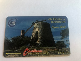 Antigua & Barbuda - Sugar Mill 3CATC - Antigua En Barbuda