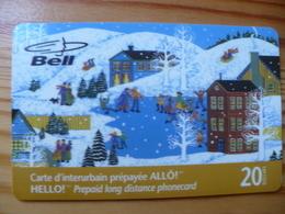 Phonecard Canada Prepaid - Bell, Christmas - Canada