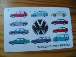 Phonecard Japan 110-011 Car, Volkswagen - Giappone