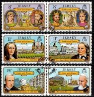Jersey SG. 293-298 Gestempelt (6563) - Jersey