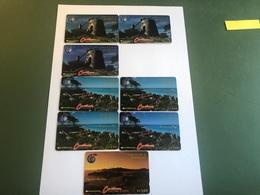Antigua & Barbuda - 8 Early Phonecards - Antigua En Barbuda