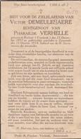 Halluin, Zwevezele, 1934, Victor Demeulenaere, Verhelle - Imágenes Religiosas
