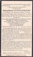 Drongen, 1933, Thelesphorus Van Ballenberghe, Vyncke - Devotion Images