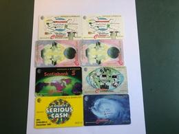 Antigua & Barbuda - 8 Different  Phonecards - Antigua En Barbuda