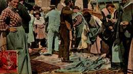 76-DIEPPE...LE MARCHE AUX POISSONS....CPA ANIMEE - Dieppe