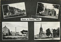 Herselt - Blauberg :  Groeten Uit  ( 1972  Met Zegel   Formaat 15 X 10.5 Cm ) - Herselt