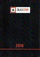 Catalogue BLACKSTAR 2018 HO 1/87 Treni Autobus Carri Armati Modelli Esclusivi - En Italien - Books And Magazines