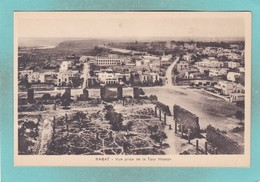 Small Old Postcard Of Rabat, Rabat-Sale, Morocco,V106. - Rabat