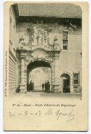 CPA - Carte Postale - Belgique - Diest - Porte D'Entrée Du Béguinage - 1903 (B9444) - Diest