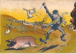 WWII WW2 Original Postcard Soviet URSS Patriotic Propaganda FREE STANDARD SHIPPING WORLDWIDE (3) - Russia