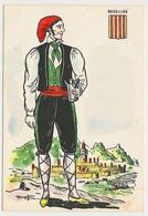 CPSM 10.5 X 15 Costume Folklorique ROUSSILLON Homme Illustrateur Margotton - Illustrators & Photographers