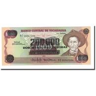 Billet, Nicaragua, 200,000 Córdobas On 1000 Córdobas, 1985 (1990), KM:162 - Nicaragua