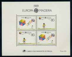 MADEIRRA 1989 Bl.10 Postfrisch (105041) - Madeira