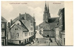 CPA - Carte Postale - Belgique - Eupen - Luftkurort Eupen - Kirchstrasse  (B9446) - Eupen