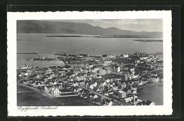 AK Reykjavik, Ortsansicht - Islande